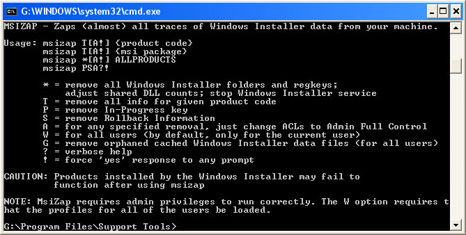 how to clean up windows installer files